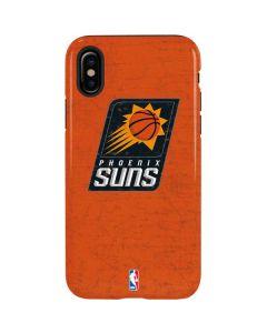 Phoenix Suns Distressed iPhone X Pro Case