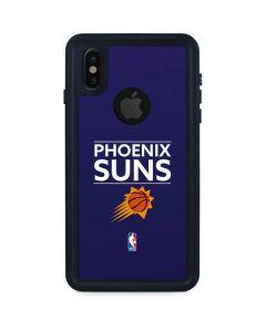 Phoenix Suns Standard - Purple iPhone XS Waterproof Case