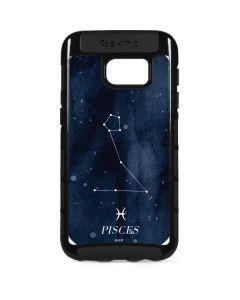 Pisces Constellation Galaxy S7 Edge Cargo Case