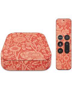 Pink & Rose by William Morris Apple TV Skin