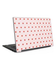 Pink and Red Hearts Dell Latitude Skin