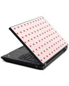Pink and Red Hearts Lenovo T420 Skin
