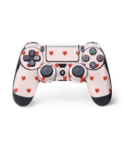 Pink and Red Hearts PS4 Pro/Slim Controller Skin