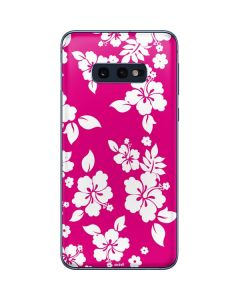 Pink and White Galaxy S10e Skin