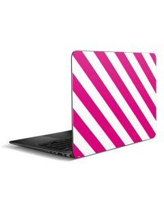 Pink and White Geometric Stripes Zenbook UX305FA 13.3in Skin