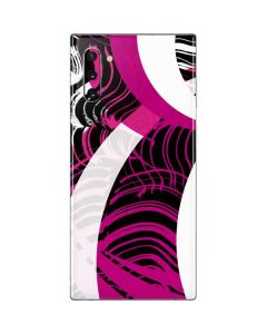 Pink and White Hipster Galaxy Note 10 Skin