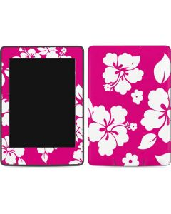 Pink and White Amazon Kindle Skin