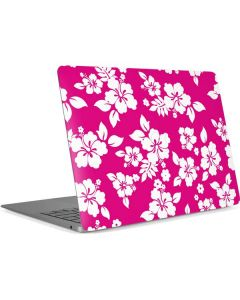Pink and White Apple MacBook Air Skin