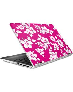 Pink and White HP Pavilion Skin