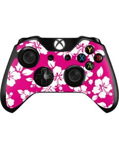 Pink and White Xbox One Controller Skin