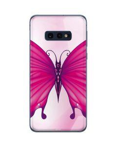 Pink Butterfly Galaxy S10e Skin