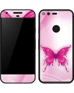Pink Butterfly Google Pixel Skin