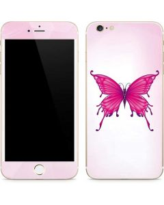 Pink Butterfly iPhone 6/6s Plus Skin