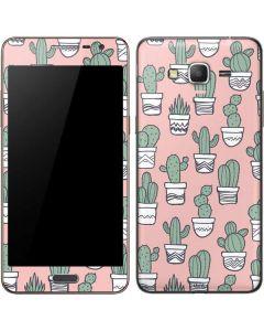 Pink Cactus Galaxy Grand Prime Skin