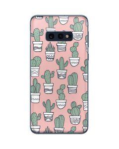Pink Cactus Galaxy S10e Skin