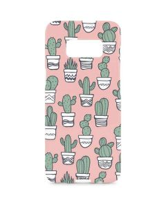 Pink Cactus Galaxy S8 Plus Lite Case
