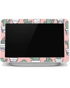 Pink Cactus Google Home Hub Skin