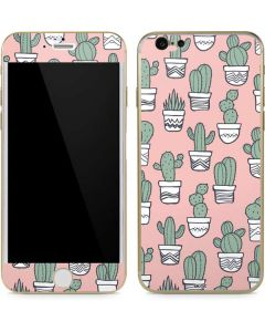 Pink Cactus iPhone 6/6s Skin