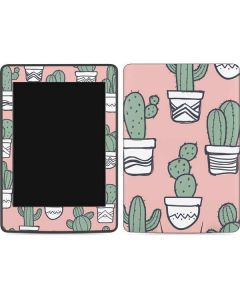 Pink Cactus Amazon Kindle Skin