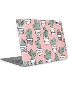 Pink Cactus Apple MacBook Air Skin