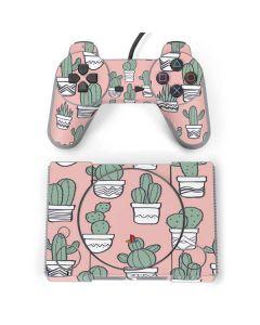 Pink Cactus PlayStation Classic Bundle Skin
