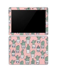 Pink Cactus Surface Go Skin