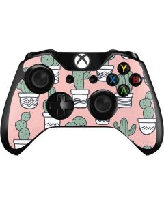 Pink Cactus Xbox One Controller Skin