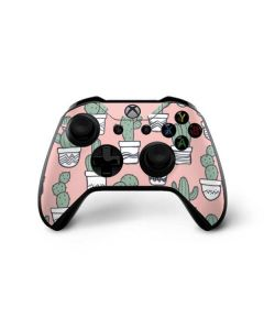 Pink Cactus Xbox One X Controller Skin