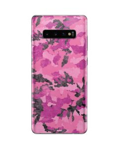 Pink Camouflage Galaxy S10 Plus Skin