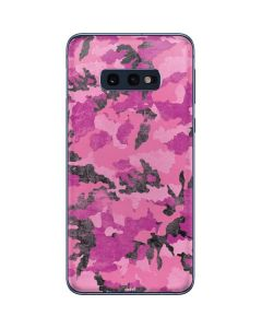 Pink Camouflage Galaxy S10e Skin