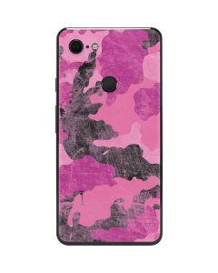 Pink Camouflage Google Pixel 3 XL Skin