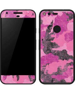 Pink Camouflage Google Pixel Skin