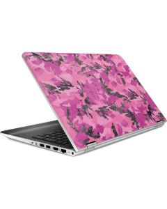Pink Camouflage HP Pavilion Skin