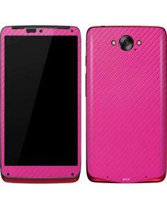 Pink Carbon Fiber Motorola Droid Skin
