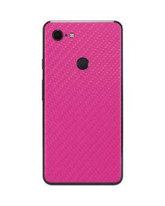 Pink Carbon Fiber Google Pixel 3 XL Skin