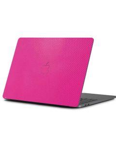 Pink Carbon Fiber Apple MacBook Pro 13-inch Skin