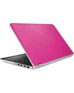 Pink Carbon Fiber HP Pavilion Skin