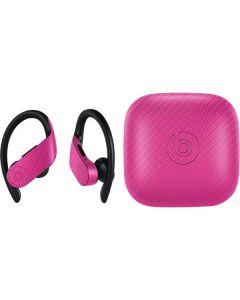 Pink Carbon Fiber PowerBeats Pro Skin