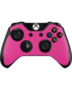 Pink Carbon Fiber Xbox One Controller Skin