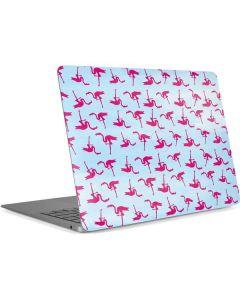 Pink Flamingos Apple MacBook Air Skin