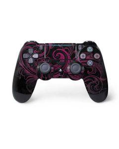 Pink Flourish PS4 Pro/Slim Controller Skin