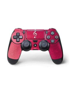 Pink Glitter Music Note PS4 Pro/Slim Controller Skin