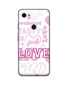 Pink Lover Google Pixel 3a Skin