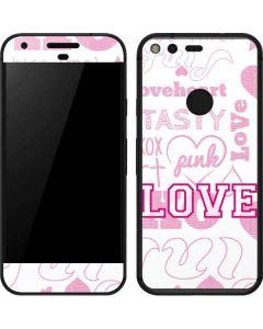 Pink Lover Google Pixel Skin