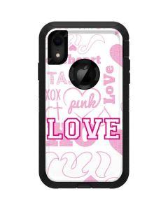 Pink Lover Otterbox Defender iPhone Skin