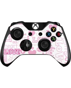 Pink Lover Xbox One Controller Skin