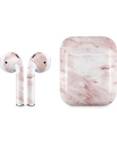 Pink Marble Apple AirPods Skin