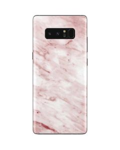 Pink Marble Galaxy Note 8 Skin