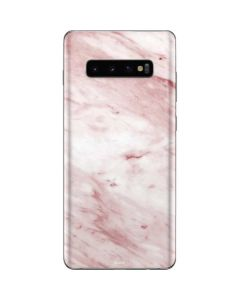 Pink Marble Galaxy S10 Plus Skin
