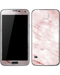 Pink Marble Galaxy S5 Skin